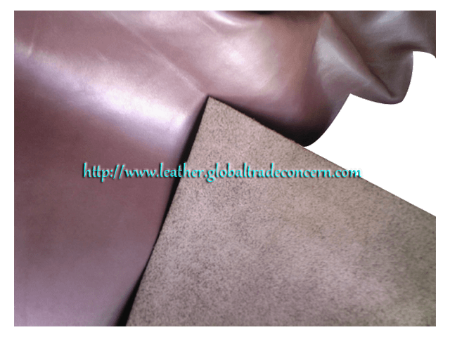Genuine Bicast Leather